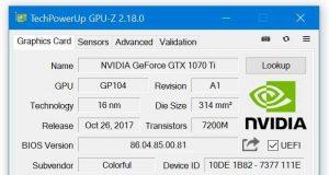 GPU-Z 2.18