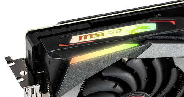 GeForce GTX 1660 Gaming X de MSI
