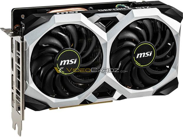 GeForce GTX 1660 Ventus XS OC Edition de MSI