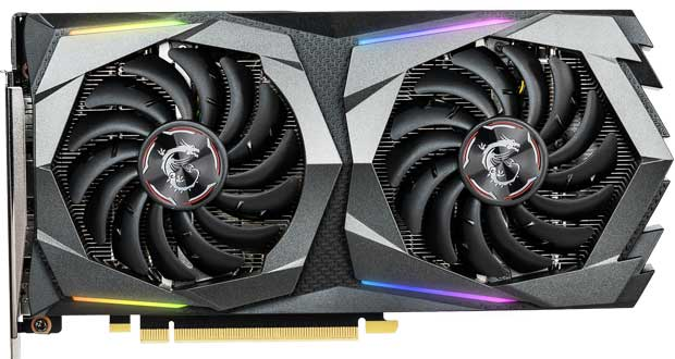 GeForce GTX 1660 GAMING X 6G de MSI