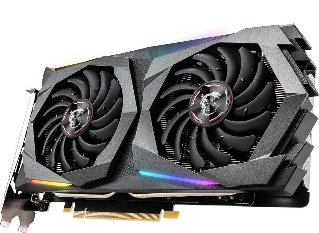 GeForce GTX 1660 GAMING X 6G de MSI