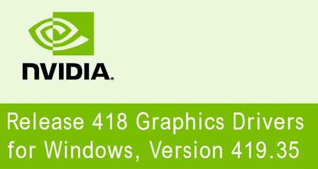 GeForce 419.35 WHQL