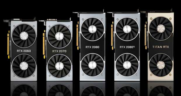 GeForce RTX 20 series (Turing) de Nvidia