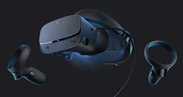 Casque de réalité virtuelle Rift S d'Oculus