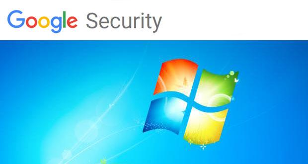 Windows 7 - Google Security