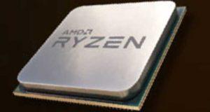 Processeur AM4 Ryzen d'AMD
