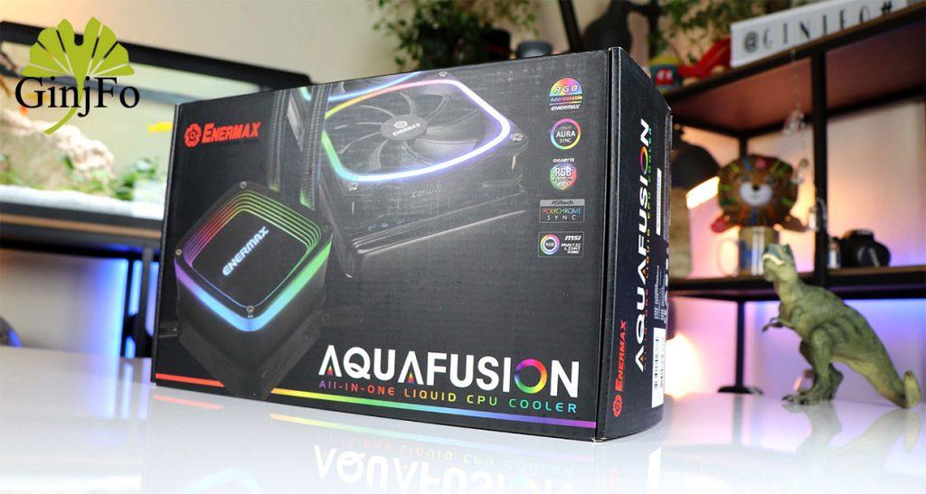 Watercooling AIO AquaFusion 240 d'Enermax