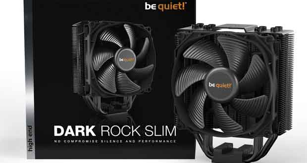 Ventirad Dark Rock Slim de Be Quiet