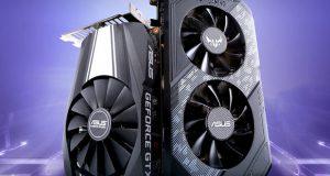 GeForce GTX 1650 Ti d'Asus