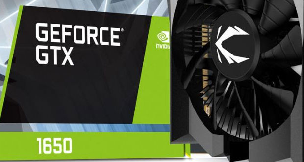 La GeForce GTX 1650 OC Edition de Zotac