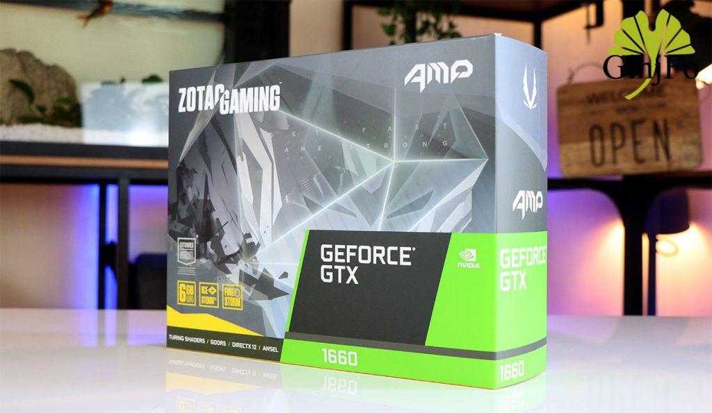 GeForce GTX 1660 AMP de Zotac