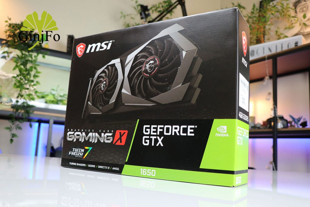 GeForce GTX 1650 Gaming X 4G de MSI