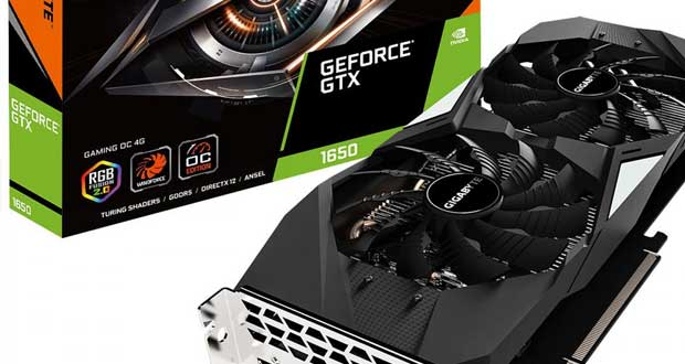 Gigabyte GTX 1650 Gaming OC
