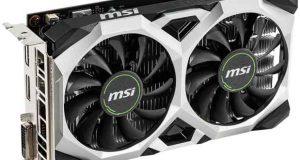GeForce GTX 1650 VENTUS XS 4G OC de MSI