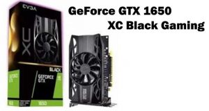GeForce GTX 1650 XC Black Gaming