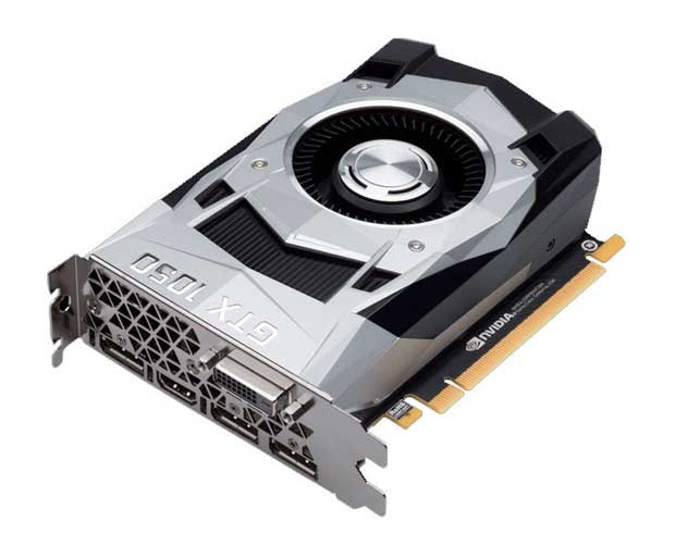 Carte graphique GeForce GTX 1650 de Nvidia