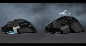Souris gaming Ironclaw RGB Wireless et GLAIVE RGB de Corsair