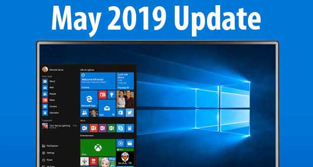 Windows 10 May 2019 Update, KB4497935 peut s'installer deux ou trois