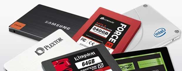 Comparatif géant de SSD : 161 modèles en test