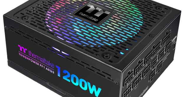 Alimentation Toughpower PF1 ARGB de Thermaltake