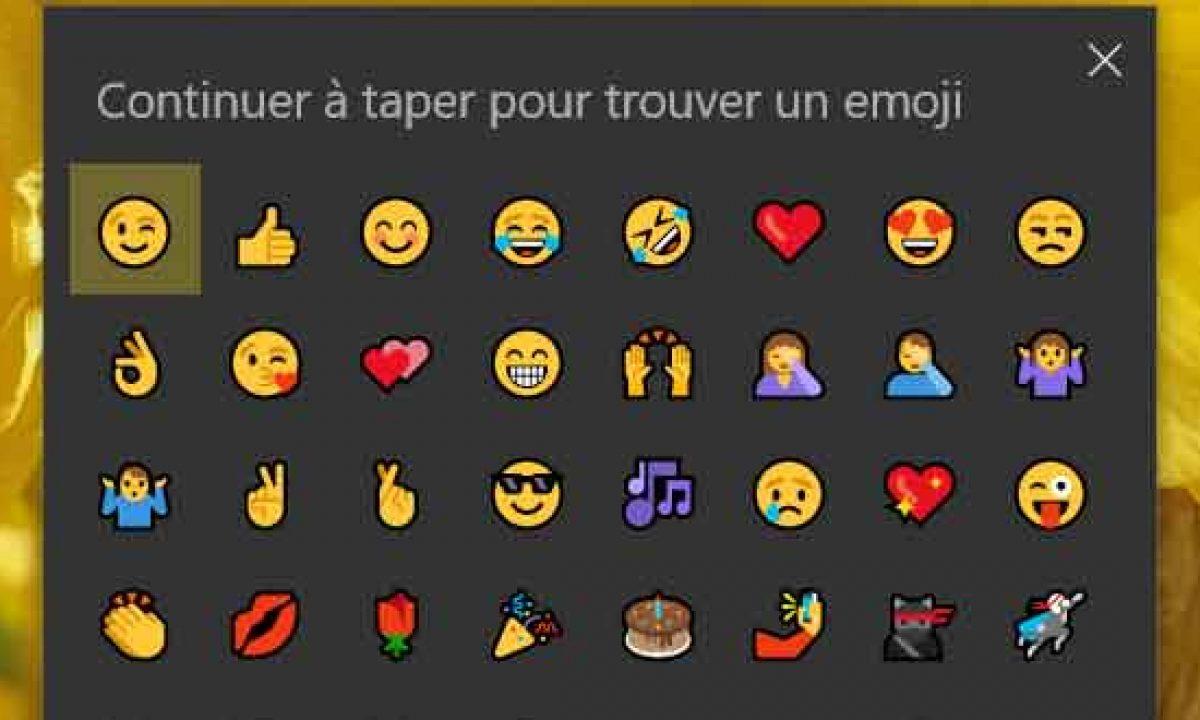 Windows 10 Comment Introduire Un Emoji Dans Un Nom De Fichier Ou Dossier Ginjfo