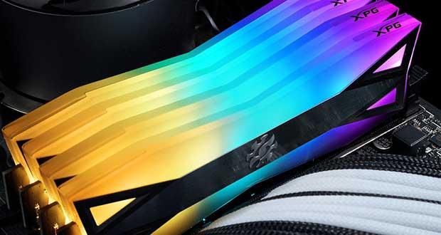 Barrette DDR4 XPG Spectrix D60G d'ADATA
