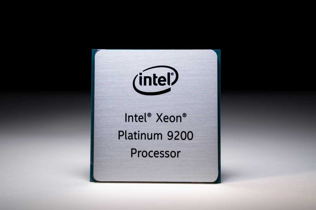 Processeur Intel Xeon Platinum 9000 series