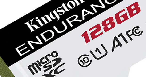 microSD Kingston High Endurance