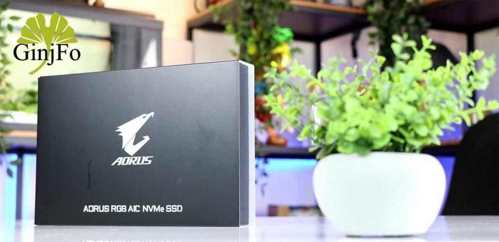 SSD Aorus RGB AIC NVMe de Gigabyte