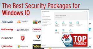 Windows 10, classement des meilleurs anti-virus pour Windows 10 (AV-Test)