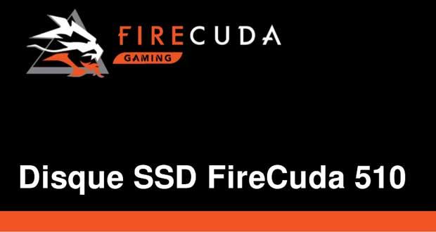 SSD M.2 NVMe FireCuda 510 de Seagate
