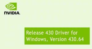 Les GeForce 430.64 WHDL (GRD)