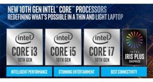 Processeur Intel Core de 10ième génération – Ice Lake
