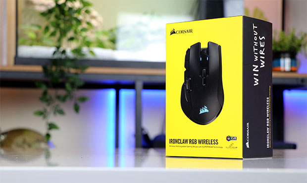 Ironclaw RGB Wireless - Application iCUE