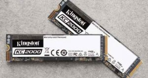 SSD KC2000 NVMe PCIe de Kingston