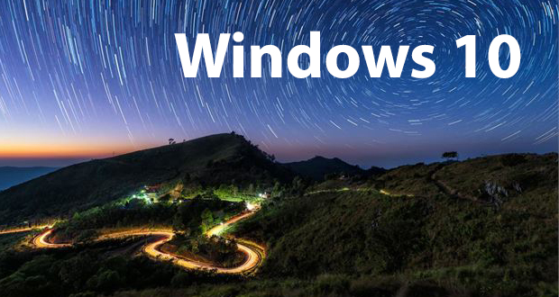 Windows 10 - Le thème Light Trails
