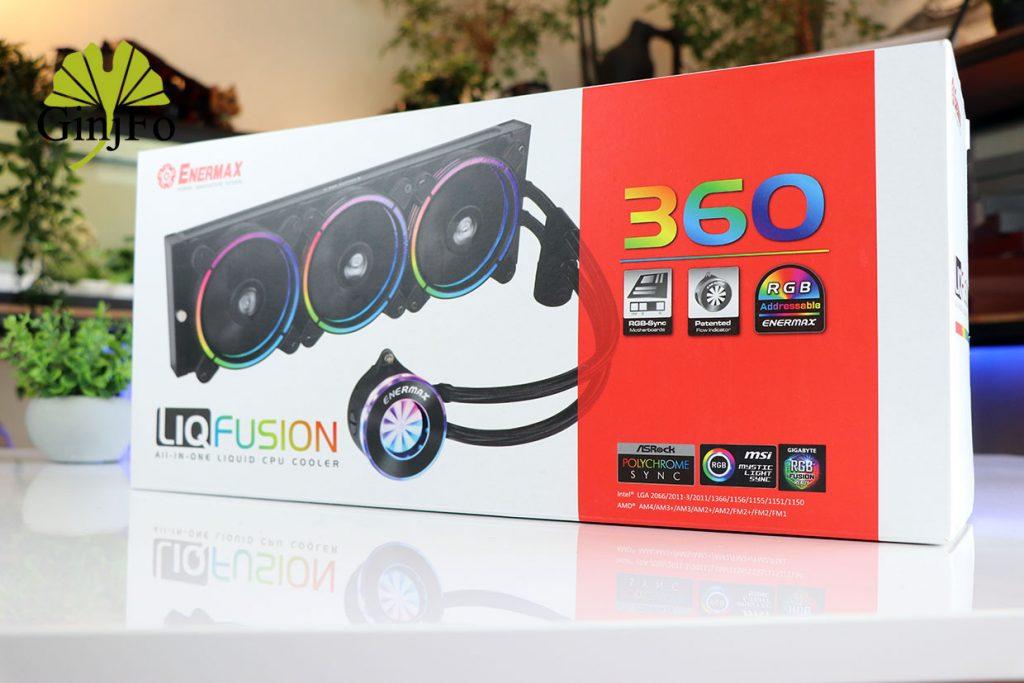 LiqFusion 360 d'Enermax