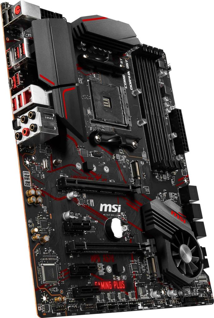 Carte mère MSI MPG X570 GAMING PLUS