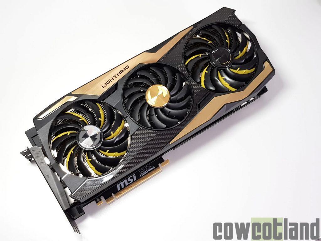 GeForce RTX 2080 Ti Lightning Z de MSI