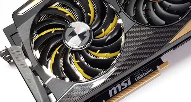 GeForce RTX 2080 Ti Lightning Z de MSI