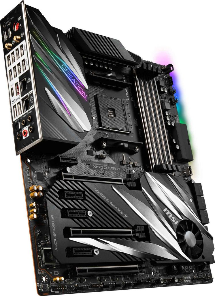 Carte mère MSI PRESTIGE X570 CREATION