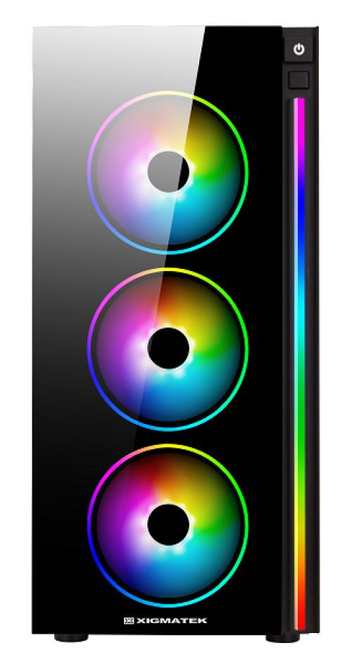 Boitier Poseidon RGB de Xigmatek