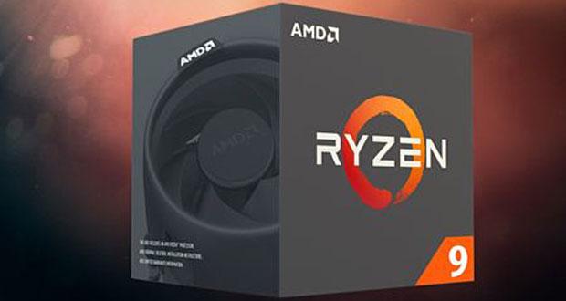 Processeur Ryzen 9 d'AMD