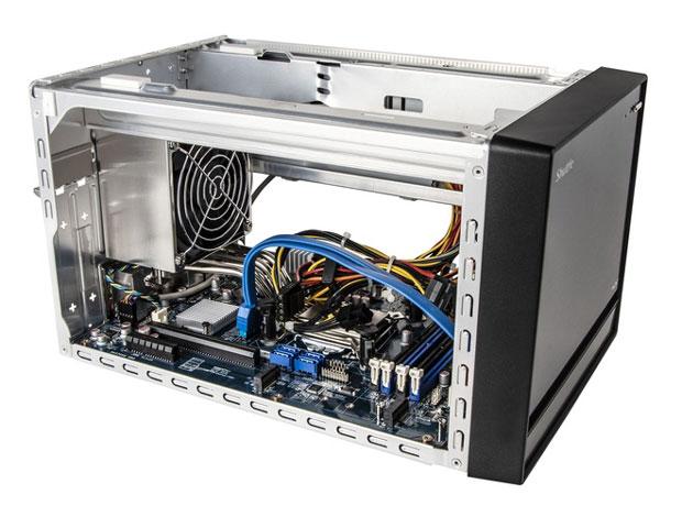 Mini-PC barebone XPC Cube SH370R8