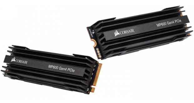 SSD PCIe 4.0 Force MP600 de Corsair