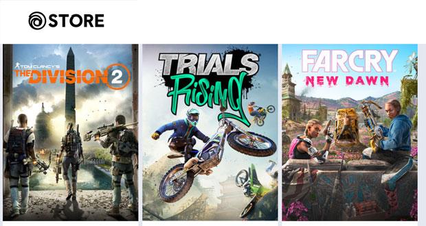La boutique en ligne d'Ubisoft