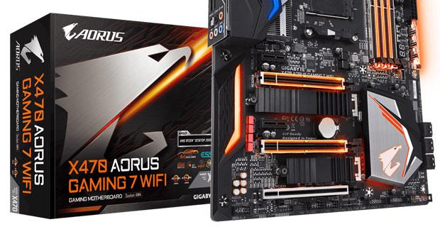 Carte mère X470 Aorus Gaming 7 WIFI de Gigabyte
