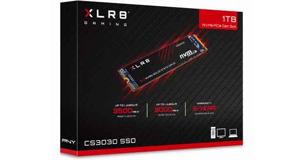SSD XLR8 CS3030 de PNY