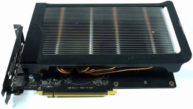 Une GeForce GTX 1650 Fanless