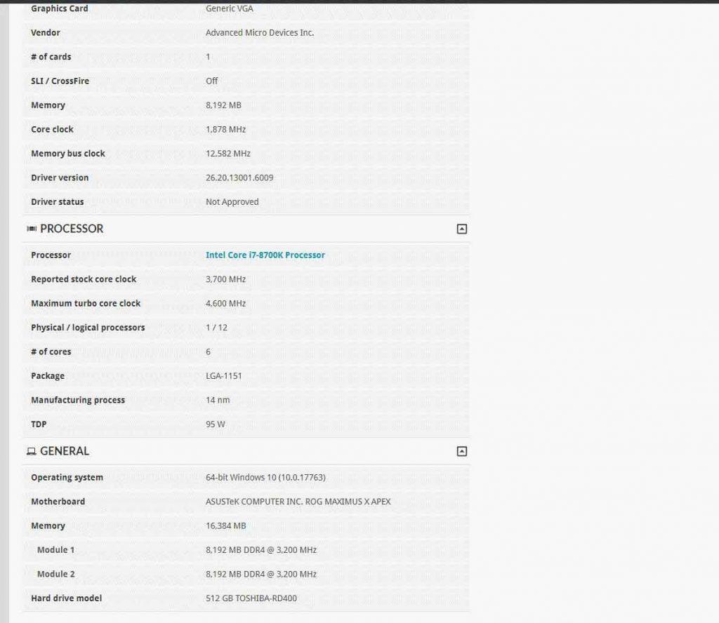La Radeon RX 5700 XT sous 3DMark Time Spy ?